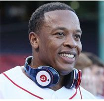 Dr. Dre with his Beats headphones