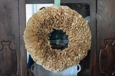 Hickory Trail: Coffee Filter Wreath