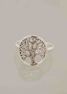 Circled Branch Tree of  Life by TeriLeeJewelry on Etsy, $38.00