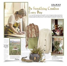 """""""Do Something Creative Every Day"""" by thewondersoffashion ❤ liked on Polyvore featuring Exclusive for Intermix, Tory Burch, Étoile Isabel Marant, Chloé, Barbara Bui, Kenneth Jay Lane, Geneva, Elizabeth and James, ToryBurch and isabelmarant"""
