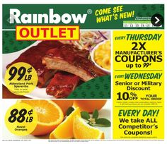 Rainbow Weekly Ad September 11 - 17, 2016 - http://www.olcatalog.com/rainbow/rainbow-weekly-ad.html