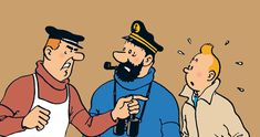 Alphonse Van Damme, a cook aboard Aurore and Sirius. Van Damme is a happy man as long as Snowy stays out of the kitchen - The Treasure of Red Rackham Captain Haddock, Herge Tintin, Lucky Luke, Ligne Claire, Van Damme, Amazing Adventures, You Funny, Funny Comics, Book Series