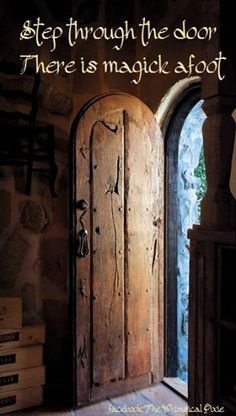 Liza Jane wonders if Colt Bluevine, the Christmas tree farmer, could make her a door like this...