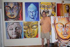 kenn kroger the architect in the drago milic studio on miami beach