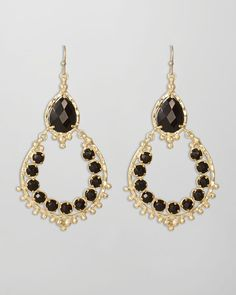 Neiman Marcus Jewelry KENDRA SCOTT  | Kendra Scott Gaia Earrings Black in Black - Lyst