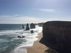Today was a perfect day to visit the 12 apostles and the great ocean road. #12apostles #greatoceanroad #australia by the_world.on.my_back http://ift.tt/1ijk11S