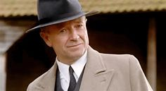 "Michael Kitchen as DCS Christopher Foyle, Foyle's War ""They Fought In The Fields"" (via VagabondTrousers on Tumblr)"