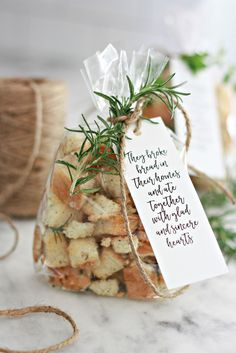 Homemade Sourdough Croutons a great hostess or neighbor gift. Make these homemade sourdough croutons for your salads or gift giving ideas for the holidays.