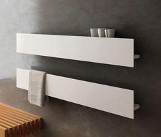 Sèche-serviettes à eau chaude / vertical / en aluminium / mural T by Matteo Thun & Antonio Rodriguez  Antrax IT