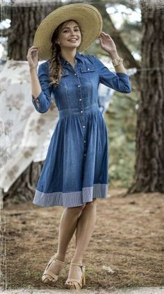 Mid-Length Flare Dress Ideas to Resume the Style – Designers Outfits Collection