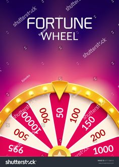Wheel Of Fortune lottery luck illustration. Casino game of chance. Free Casino Slot Games, Play Casino Games, Online Casino Slots, Online Casino Games, Online Gambling, Jackpot Casino, Uk Casino, Online Lottery, Play Free Slots
