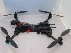 H500 Folding carbon fibre Quadcopter complete built & test flown system - Quadcopters - MultiRotors