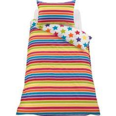 Buy Colour Match Kids' Star and Stripe Duvet Set - Single at Argos.co.uk - Your Online Shop for Children's bedding sets.
