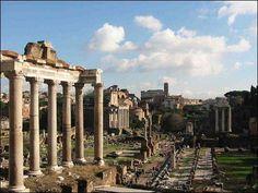 ***Vista del Templo de Júpiter en el Capitolio (S. V a.C.).= Orden Corintio.