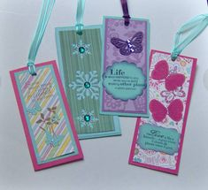 Travanna's--scrap bookmarks
