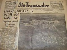 Die Voortrekker Monument se opening op 15 Desember 1949 soos berig in Die Transvaler Vocabulary Games, The Old Days, Folk Music, African History, Archaeology, South Africa, Apartheid, Memories, World