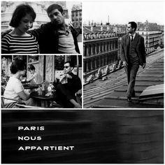 "#Filmdelgiorno - "" Paris Nous Appartient"" (1960) di Jacques Rivette - #1000film."