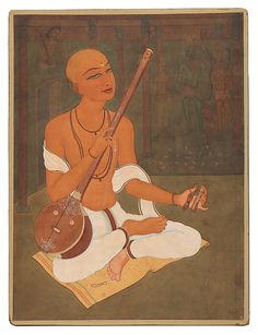 Y. G. Srimati | Saint Tyagaraja Singing Hymns in Praise of Lord Rama | India (Chennai) | The Met
