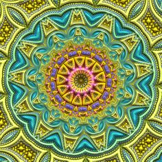 """The Sanskrit term mandala roughly translates to """"magic circle"""" or """"sacred circle"""". They tend to act as activation templates of consciousness. Carl G. Jung studied mandalas from a wide field of world cultures and eras, as well as having advocated for creating our own mandalas as vehicles of soulwork. He noted that when we draw mandalas from the center outward, we tend to process our personal issues or challenges du jour and often gain increased clarity and energy which we can apply to our…"""