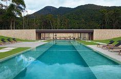 Sleek contemporary house in Rio by Bernardes + Jacobsen Arquitetura _