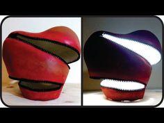 ❣DIY Unzipped Heart Lamp - Unique Valentine's Day Gift Idea❣ - YouTube