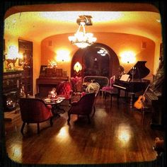 Kat Von D's house...her style is amazing!!!