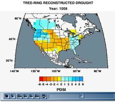 Scientists Reconstruct the History of Drought for North America