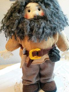 Hagrid  - gestrickt