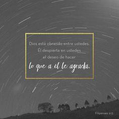 Porque es Dios quien los motiva a hacer el bien y quien los ayuda a practicarlo y lo hace porque así lo quiere. Filipenses 2:13 #JR