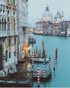 Incredible. Grand Canal. Venice, Italy. Photography by @ravivora #aroundtheworldpix
