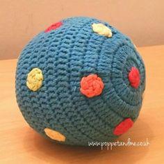 Fairtrade Handmade Spotty Playball Rattles