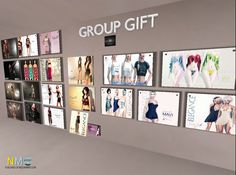 Reminder Elegance Boutique Group Gifts Wall This post is a reminder, that Elegance has a variety of free group gifts. Elegance Boutique, Second Life, Free Gifts, Photo Wall, Letters, Elegant, Frame, Classy, Photography