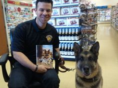 Sergeant Rex- With author Mike Dowling at Camp Pendleton