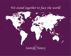 """""""We stand together to face the world"""""""
