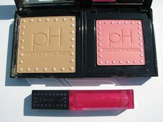 Physicians Formula New pH Matchmaker Bronzer, Blush, and Lip Gloss ~ Swatches, Pics, Review  Perilously Pale