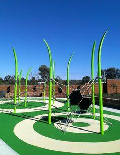 Kinda make you feel like an ant! Really cool Corocord play structures.  www.kompan.com