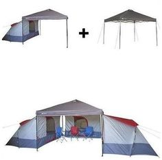 Camping Tent Ideas - The Pop Up Tent - Taking Camping to Another Level -- Find out more at the image link. #CampingTentIdeas
