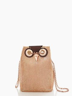 why is it so cute? to hold my lipsticks and my phone. | evening belle night owl by kate spade