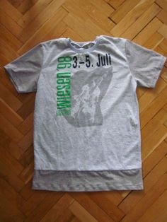 """Runderneuertes Leiberl / """"Remoulded"""" shirt / Upcycling"""