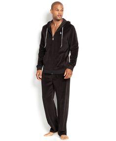 Sean John Men s Velour Pants and Hoodie - Pajamas baf26d738