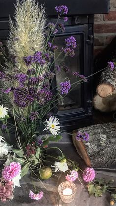 Autumn Table, Firewood, Nook, Barn, Texture, Plants, Wedding, Style, Surface Finish
