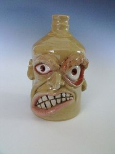 Face Jugs - there really are such things, but they would be great to have in a Haunted House for Halloween
