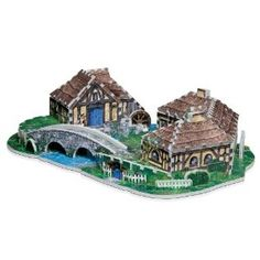 3359eb4bd5abc0 Hobbiton from Lord of the Rings The Hobbit: An Unexpected Journey, 363 Piece  Jigsaw Puzzle Made by Wrebbit
