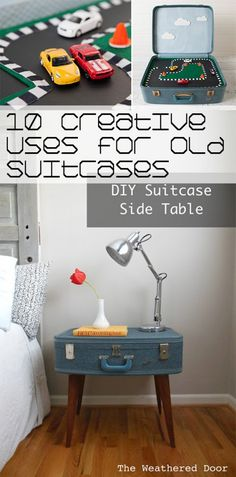 10 Creative Uses for Old Suitcases