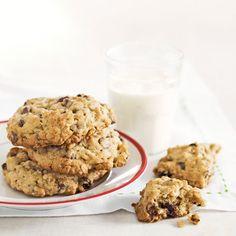 Grandma Mollie's Oatmeal Raisin Chocolate Chip Cookies  - CountryLiving.com