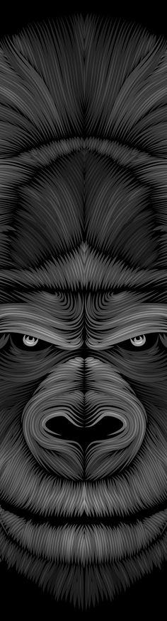 Le gorille by Patrick Seymour