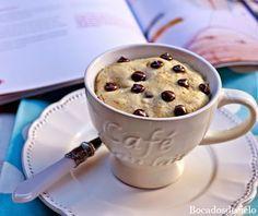 Bocadosdecielo: Mug Cake de cookies de Victoria's Cakes