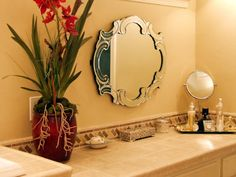 BEAUTIFUL ACCESSORIES PART OF MASTER BATHS STYLE