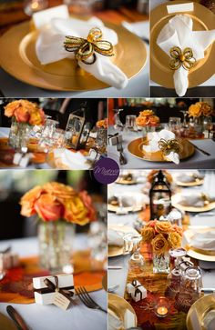 Table decor idea for an engagement party, bridal shower, etc.    South Florida Wedding Photographer | Miami, Broward, Palm Beaches, and the Florida Keys | Engagement Party at Cook'in Paris in Pembroke Pines | www.MinervaPhotography.com