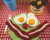 This is cute! Felt food for kids.
